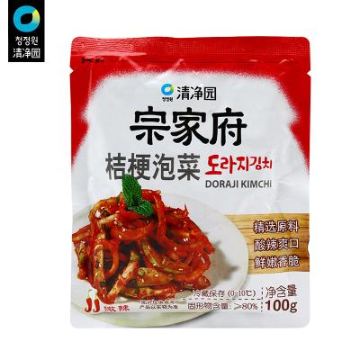清凈園宗家府桔梗泡菜100g 辣白菜咸菜方便面伴侶下飯菜配飯菜