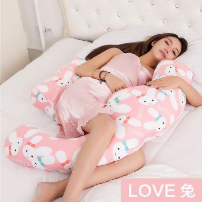 婴米尼 孕妇枕护腰枕侧卧枕孕妇枕头侧睡枕靠垫用品 多功能抱枕