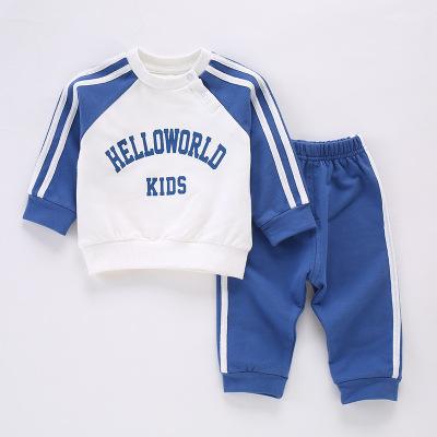 【官方旗艦正品】葆適得嬰兒衣服0-1歲秋冬裝春秋款洋氣6個月3寶寶9純棉分體春裝兩件套裝