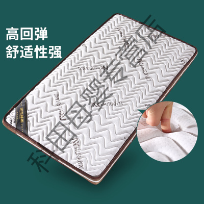 定制床垫棕垫椰棕榈儿童护脊硬薄床垫偏硬1.5m1.8米榻榻米经济型应 亚麻面料配小床尺寸180*100(厚5cm) 其他