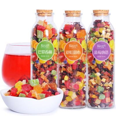 3罐花果茶 水果茶 巴黎香榭/藍莓/彩虹甜心組合洛神茶 果粒花草茶