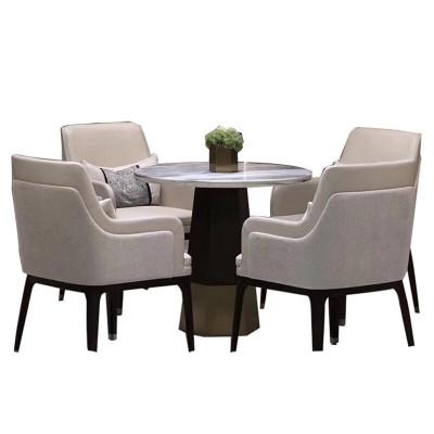 欧宝美售楼处部洽谈桌椅组合简约北欧美容院商务休闲一桌四椅接待沙发椅
