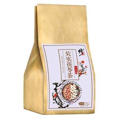修正芡實茯苓茶 1袋裝150g(5g*30)大麥山藥苦蕎橘皮甘蒲公英可搭紅豆薏米茶祛濕茶祛濕氣