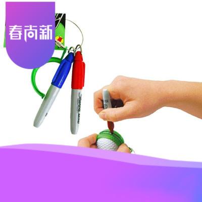 日本Lite高爾夫球劃線器劃線筆高爾夫畫線器標記用2支筆【定制】 顏色隨機