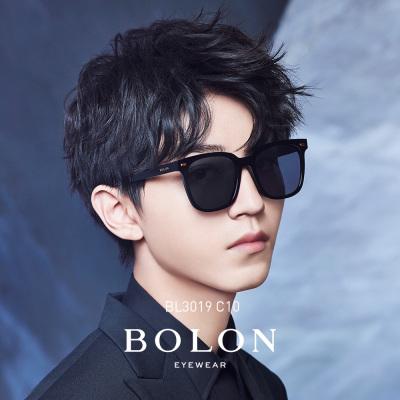 暴龙偏光太阳镜男士2019新款王俊凯明星同款方框墨镜潮流眼镜BL3019