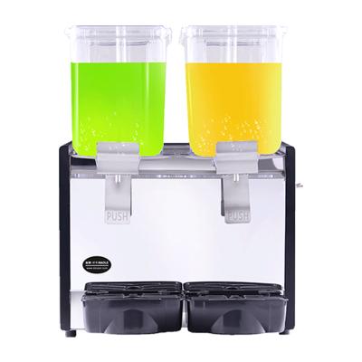 東貝(donper)好樂飲料機商用自助冷熱兩用全自動雙缸冷飲機熱飲奶茶果汁非三缸