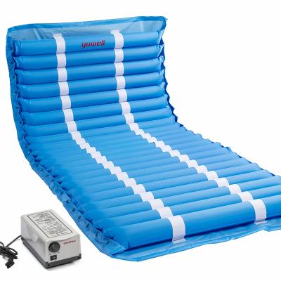 鱼跃(YUWELL)防褥疮气床垫家用医用老人气垫床病人瘫痪卧床充气护理褥疮垫-条纹22管