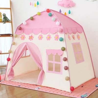 兒童帳篷寶寶游戲屋房子玩具室內公主生日禮物女孩娃娃家小城堡