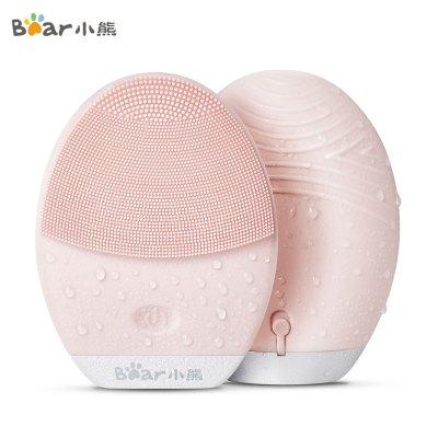 小熊(Bear)潔面儀 JMY-A05J1 網紅款粉色硅膠電子美容儀家用電動潔面儀毛孔清潔器洗臉刷