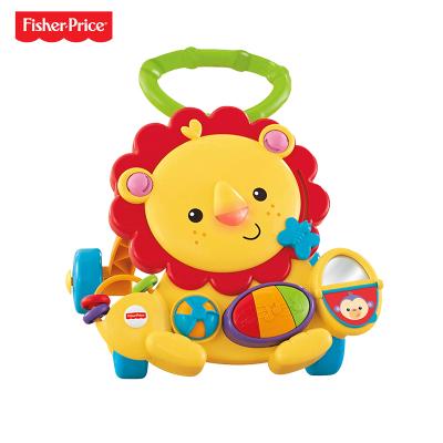 Fisher Price 费雪多功能狮子学步车 6-36个月婴幼儿塑料玩具-Y9854(40件)