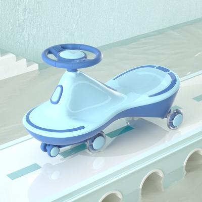 贝恩施 儿童扭扭车摇摆车1-3-6岁男孩滑行车 静音轮溜溜车宝宝玩具车 高级豪华儿童健身车