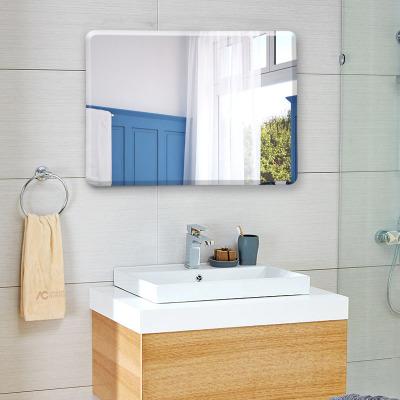 浴室镜子免打孔卫浴镜化妆镜子壁挂卫生间梳妆厕所洗手间镜子贴墙