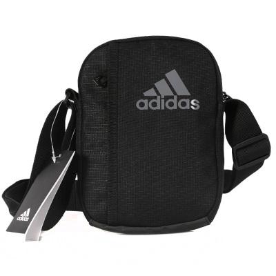 Adidas阿迪達斯男包女包2019秋款正品運動休閑斜挎包單肩包AJ9988