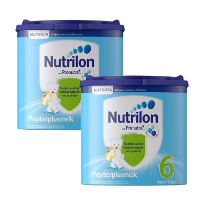 牛欄(Nutrilon) 荷蘭原裝進口 荷蘭牛欄諾優能Nutrilon嬰幼兒配方奶粉 保稅倉發貨 6段 2罐