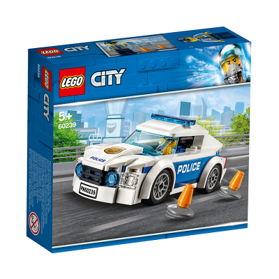 LEGO 乐高 City城市系列 警察巡逻车60239
