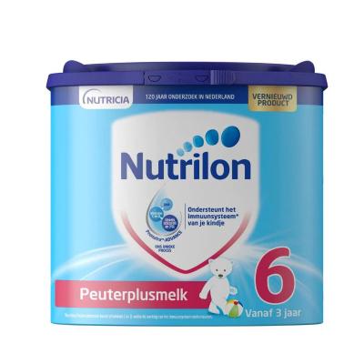 Nutrilon 荷蘭牛欄 諾優能 嬰幼兒配方奶粉 易樂罐 6段(3歲以上)400g/罐