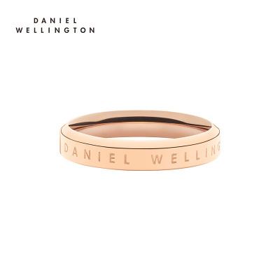 DanielWellington丹尼爾惠靈頓 dw戒指 新品簡約百搭閨蜜情侶戒指