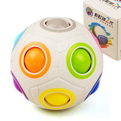 圣手7800A彩虹球魔方 專業異型玩具魔力彩虹球創意足球減壓玩具兒童小孩益智玩具