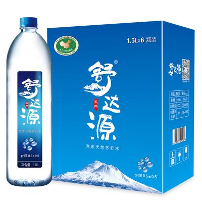 舒達源天然蘇打水1.5L*6