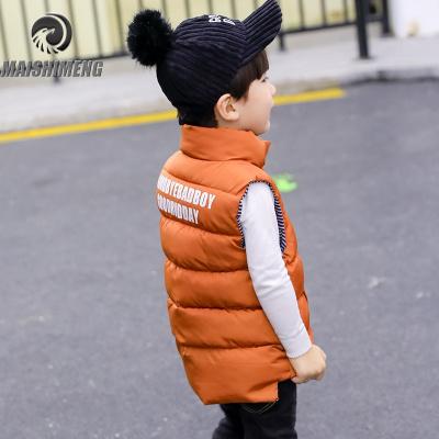 【品牌特卖】儿童羽绒棉马甲立领男童女童加厚保暖秋冬中小童宝宝背心童装外套