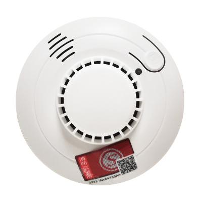 巨木 煙霧報警器煙感探測器無線煙霧感應器家用防火濃煙警報消防火災煙感報警器YJ-106