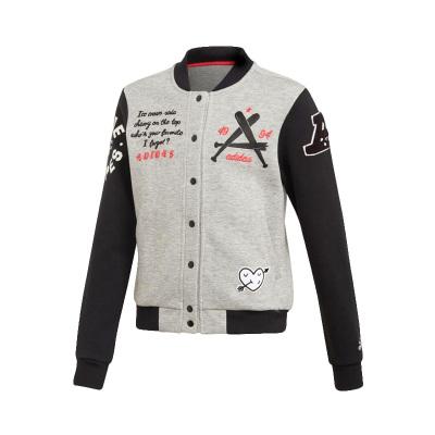 阿迪達斯adidas女童針織夾克FL1779