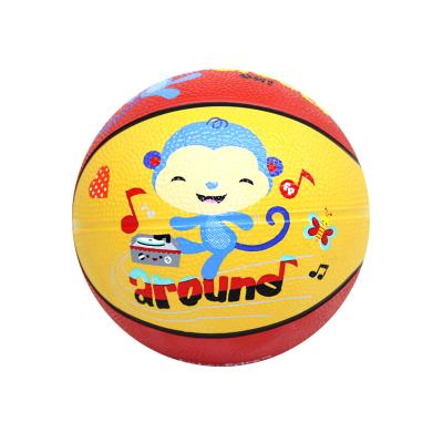费雪(Fisher Price)儿童玩具球宝宝小孩户外运动健身玩具篮球 儿童篮球(猴子)F0525H2