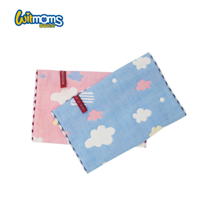 兩條裝孕嬰童毛巾純棉卡通舒適透氣無熒光劑快速吸水小面巾25*50