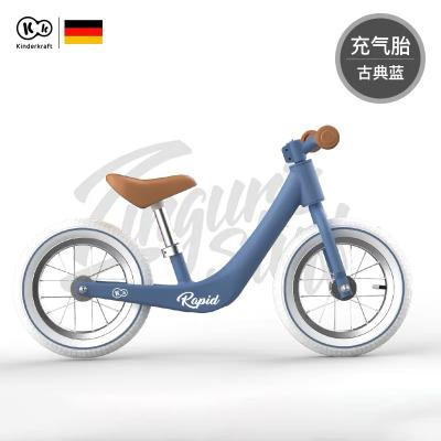 德國Kinderkraft兒童平衡車KK學步車滑行單車12寸雙輪無腳蹬科學鍛煉平衡3-6歲寶寶入門款Rapid-Plus