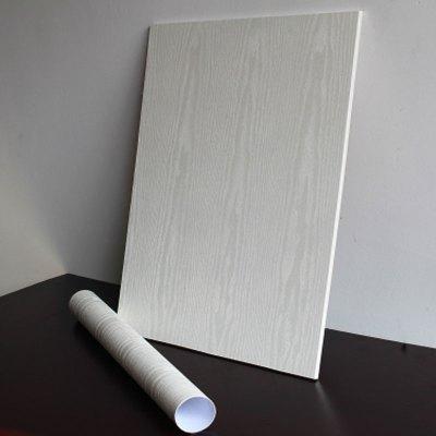 壁紙白木紋衣柜櫥柜子舊家具翻新貼紙自粘墻紙臥室房間門貼紙生活日用家居家用墻紙墻貼