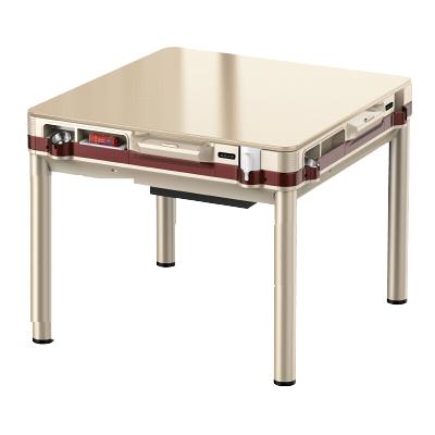 沃盛全自動麻將機 家用電動式四口棋牌桌 餐桌兩用 可選手機充電 有標配蓋板