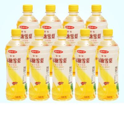 娃哈哈冰糖雪梨500g*9瓶整箱批發 夏季瓶裝清潤滋養果汁飲料飲 品