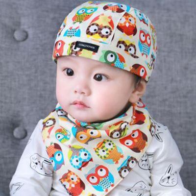 鸡鸡扎扎 春秋遮阳棉布帽3-6-12个月婴儿帽子宝宝男女儿童鸭舌帽棒球帽冬天