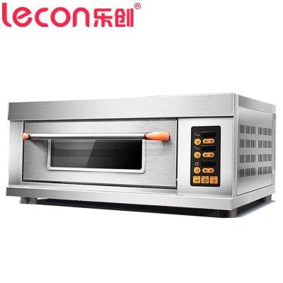 乐创电器旗舰店(lecon)YXD-Z101 电烤箱 商用烘培炉电烤箱 一层一盘电烤箱 微电脑控制 商用烤箱