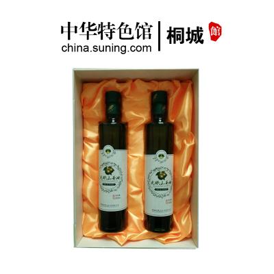 【中華特色】桐城館 龍眠山山茶油茶籽油500ml*2禮盒包裝 華東