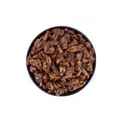博多客 山东特产即食熟五香蚕蛹子 醇香茧蛹生鲜新鲜 100g*10袋