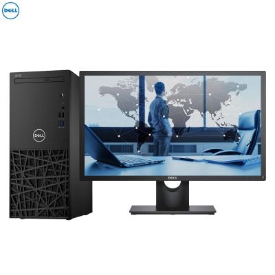 戴爾(DELL)成銘3980 商用臺式電腦 21.5英寸顯示器(Intel i5-8500 8GB 1TB+128GB固態 2G獨顯 刻錄 W10H)商用辦公 家用娛樂 性價比機