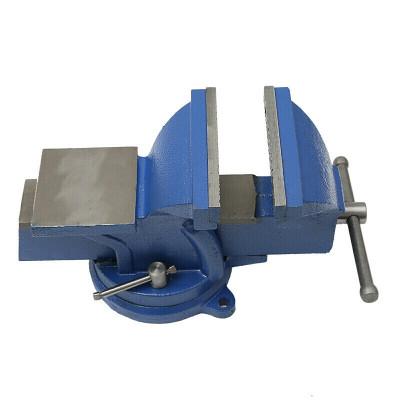 台钳工作台家用铸铁重型精密台虎夹钳多功能迷你小型木工台虎桌钳