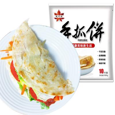 【第二件半價】【精包裝】手抓餅10片*80克 臺灣風味手撕餅早餐手爪餅