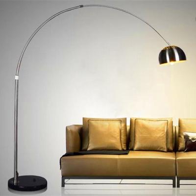 現代簡約意大利 落地燈客廳燈臥室麻將燈釣魚燈臺燈 遙控護眼LED