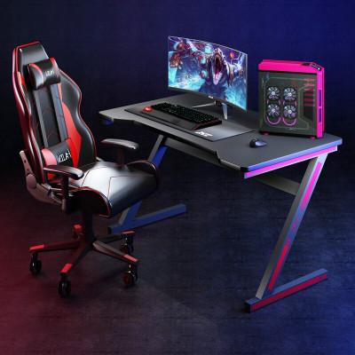 電腦桌臺式電競桌簡約游戲桌家用宿舍電腦桌椅套裝