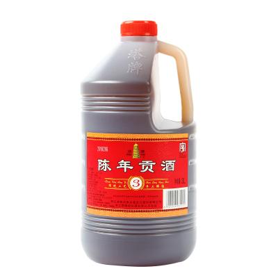 紹興黃酒 塔牌陳年貢酒 干型 手工冬釀黃酒 3L桶裝