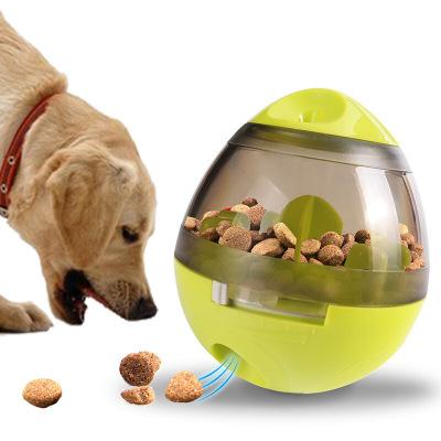 宠物不倒翁漏食球器玩具互动慢食狗狗玩具可节零食大小耐用