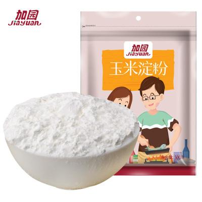 加園(Jiayuan)玉米淀粉500g食用生栗鷹勾芡蛋糕烘焙原料 調味品