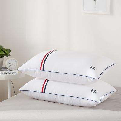 lovo家纺罗莱生活出品枕头一对成人舒睡枕头枕芯一对装正品家用护颈枕颈椎枕
