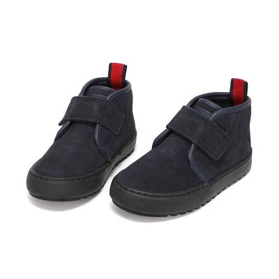 Polo Ralph Lauren童鞋Chett男童冬季真皮保暖短靴戶外雪地靴