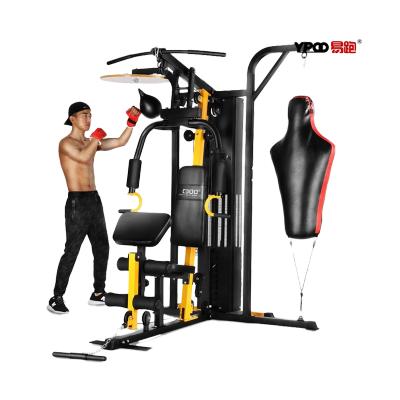 易跑綜合訓練器CDOO-Z1 力量商用多功能腹肌腿部胸肌組合健身器材