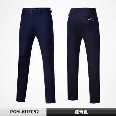 高爾夫褲子 男士長褲 高彈運動球褲