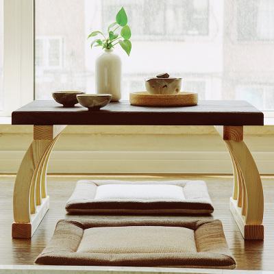汐巖榻榻米小桌子飄窗小茶幾家用日式矮桌坐地榻榻米茶幾茶臺地桌炕桌