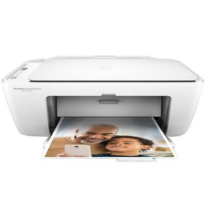 惠普(HP)DeskJet Ink Advantage 2678彩色噴墨一體機多功能打印機一體機(無線打印 掃描 復印)學生打印作業打印